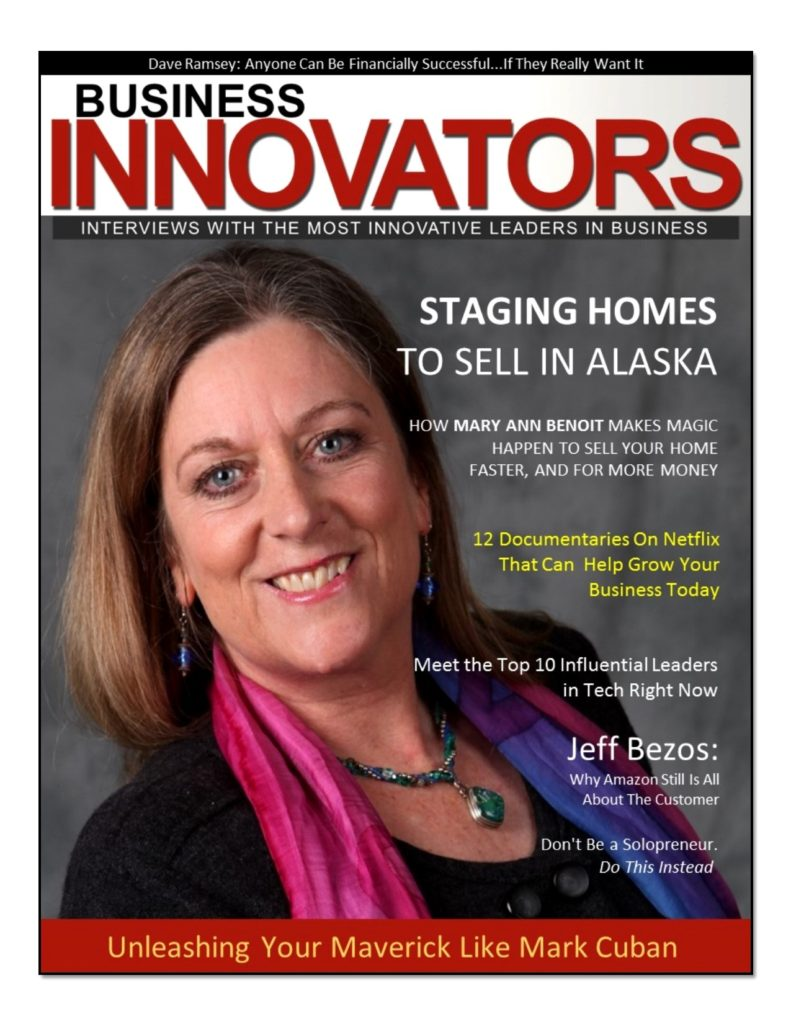 Mary Ann Benoit- President of Northern Lights Home Staging and Design