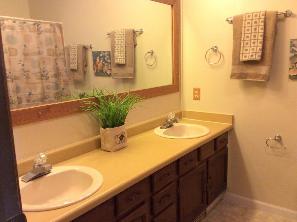 Bathroom- After Staging