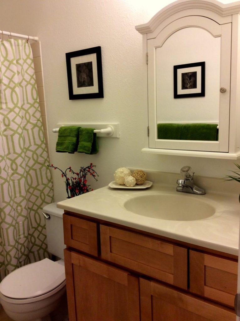Bathroom After Home Staging