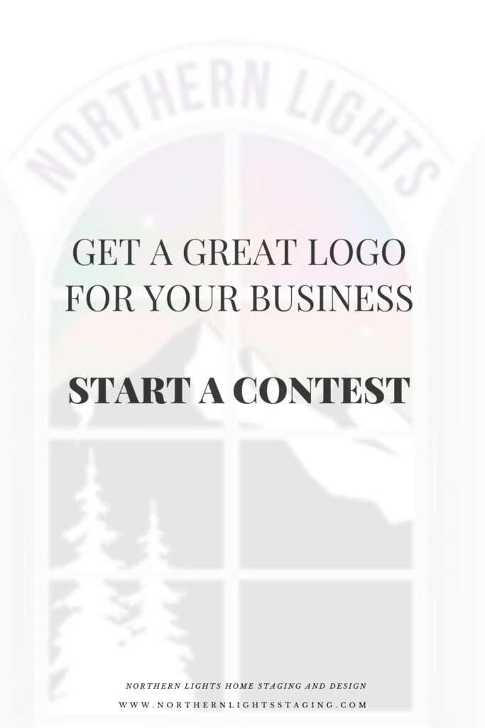 Get a great logo for your business by Northern Lights Home Staging and Design.