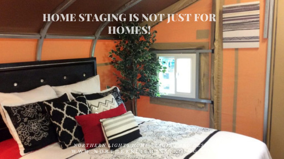 Home Staging is not just for homes!