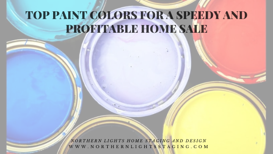 Top Paint Colors for a Speedy and Profitable Home Sale