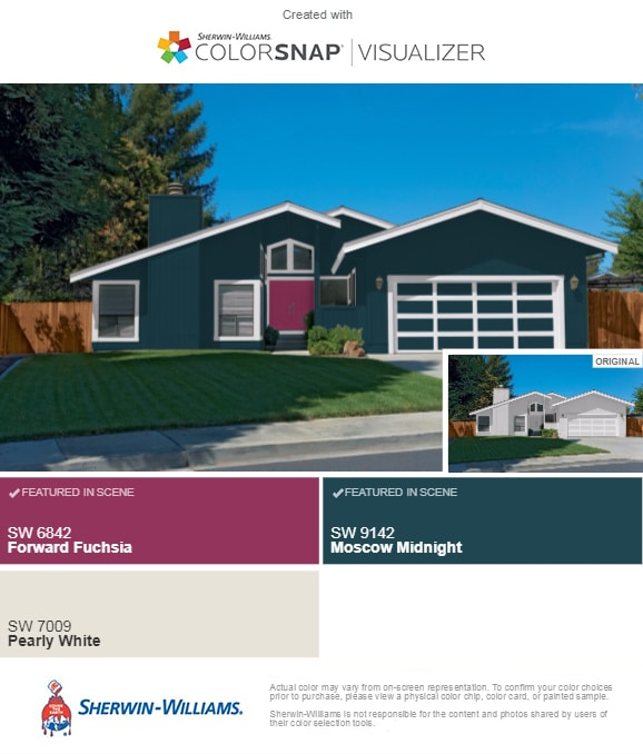 How To Pick The Perfect Exterior Paint Colors Part 2