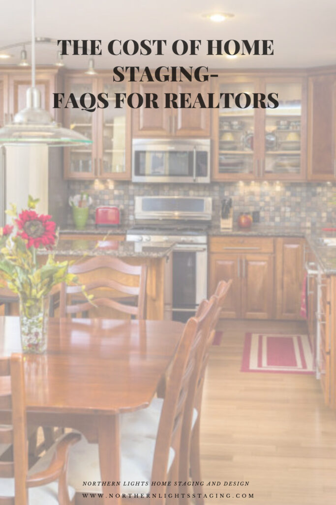 The Cost of Home Staging-FAQs for Realtors