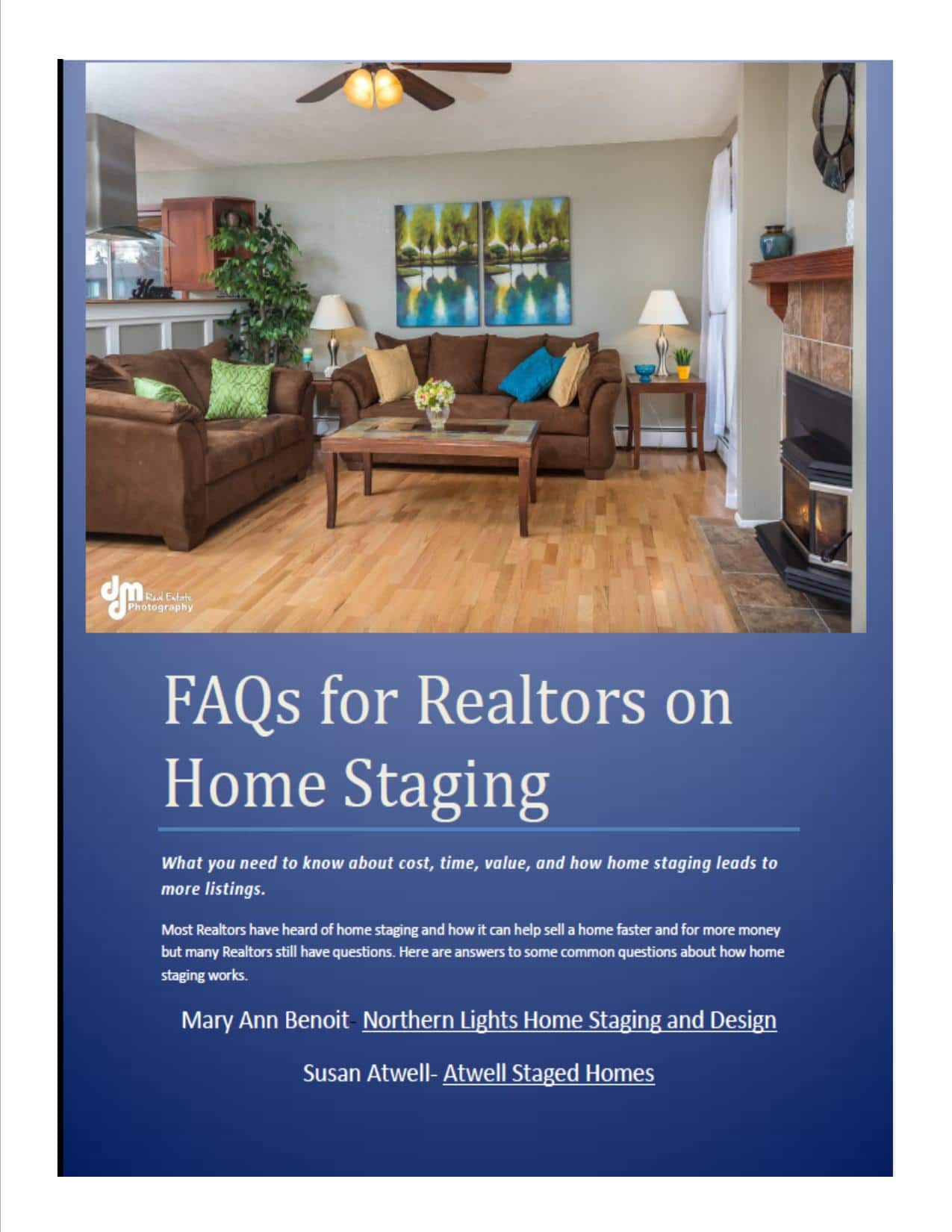 FAQs for Realtors on Home Staging - Northern Lights Home Staging and ...