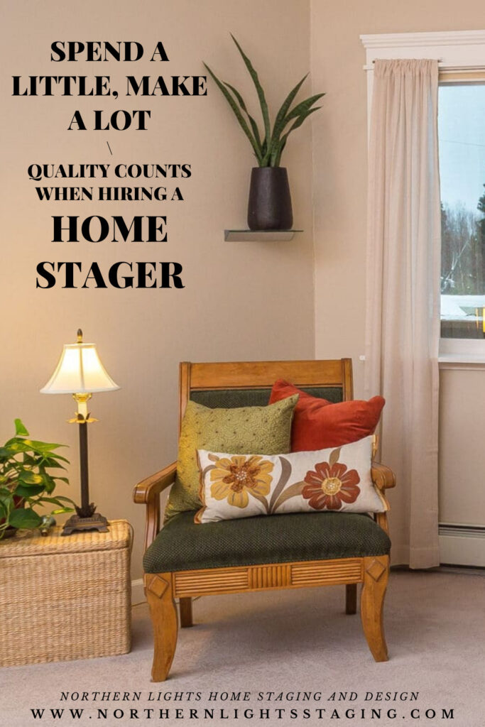 Spend a Little and Make a Lot with Home Staging