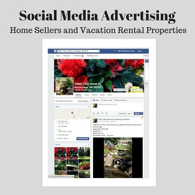 Social Media Advertising for Home Sales and Vacation Rentals