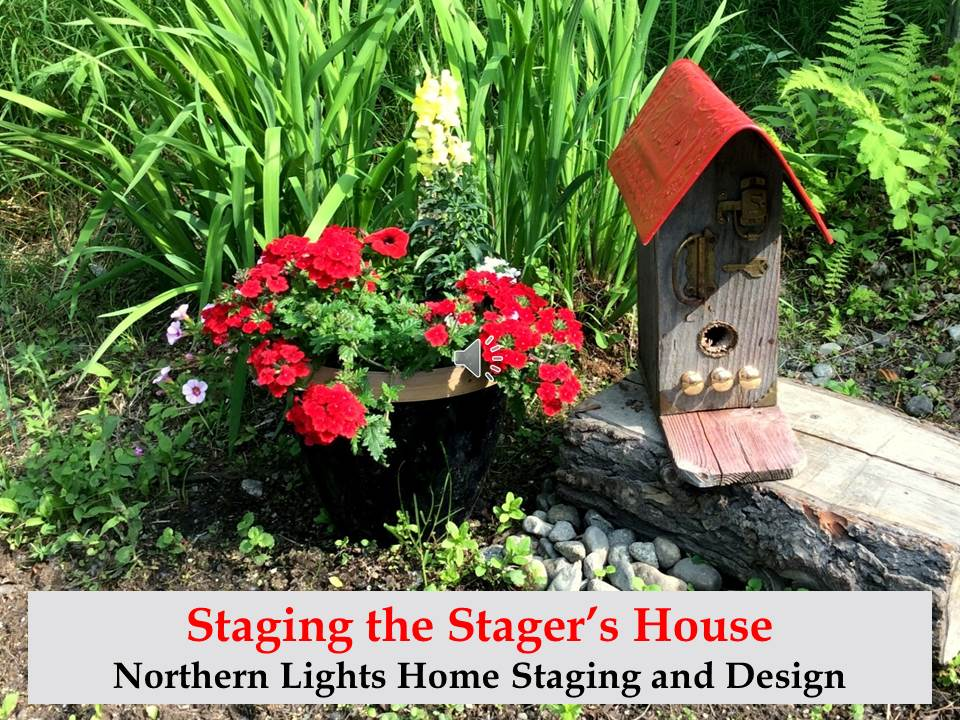 Staging the Home Stagers House