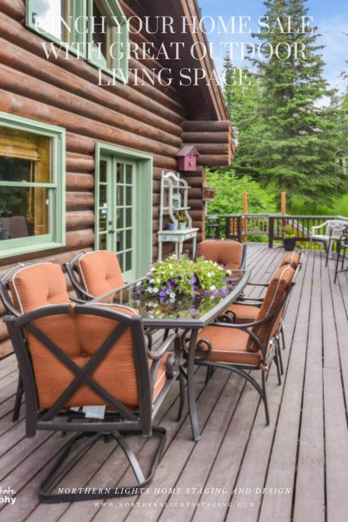 Cinch Your Home Sale with Great Outdoor Living Space
