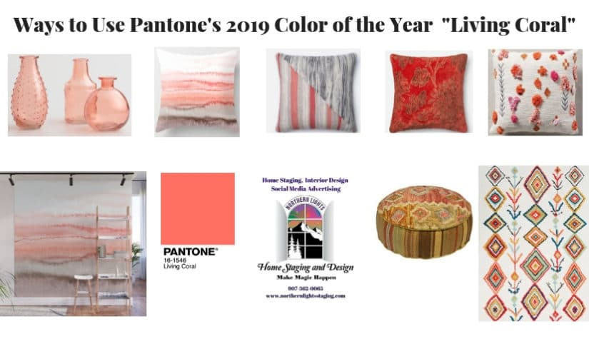 Color Tip of the Month- Using Pantone's Living Coral