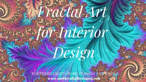 One of a kind fractal art for Interior Design by Mary Ann Benoit of Northern Lights Home Staging and Design available for sale at SSP Studio and Gallery in Anchorage AK and Society 6.