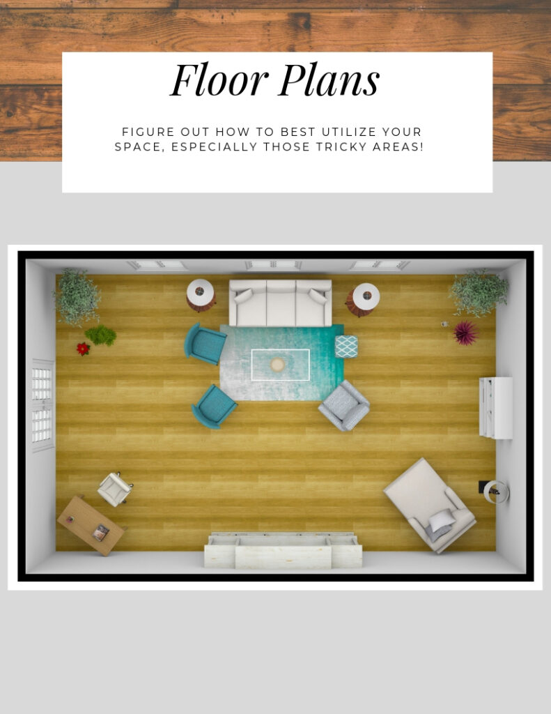 Floor Plans- Northern Lights Home Staging and Design