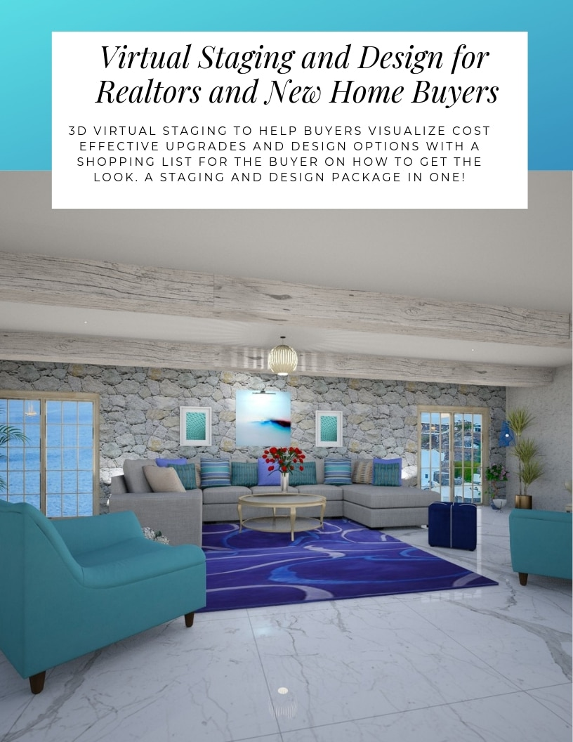 Virtual Home staging packages online by Northern Lights Home Staging and Design