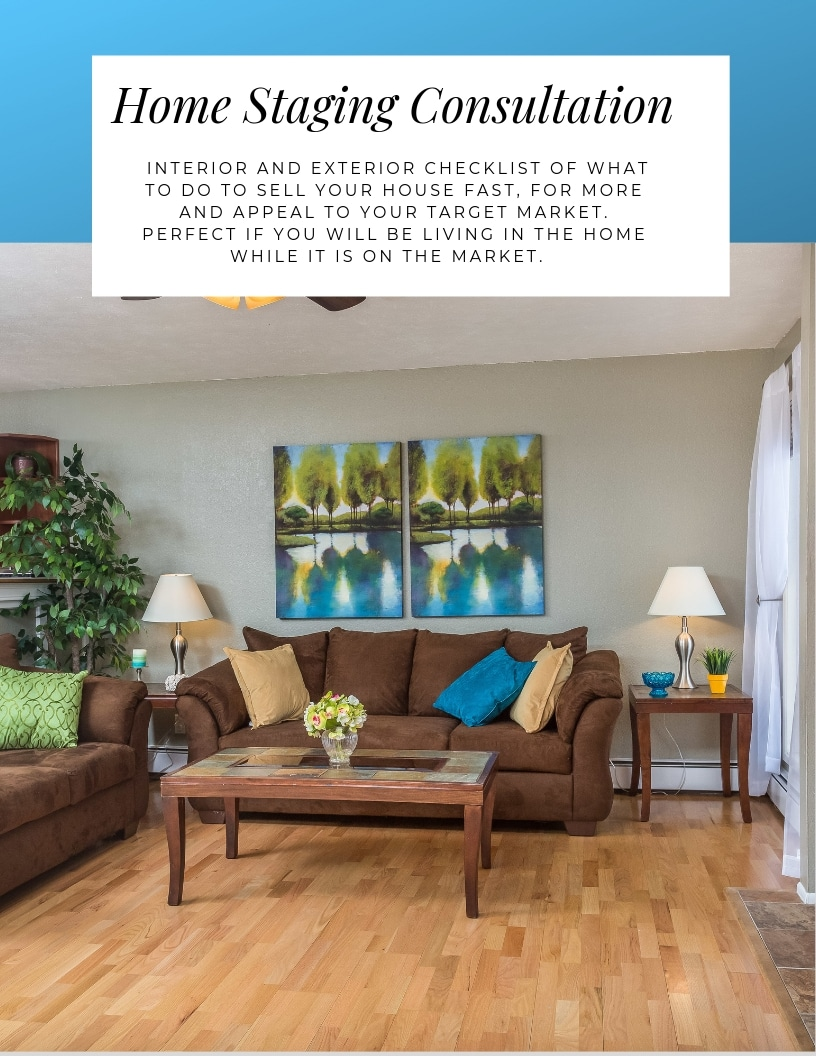 Online Home staging consultation with Northern Lights Home Staging and Design. Wherever you are, learn everything you need to know to sell fast and high.