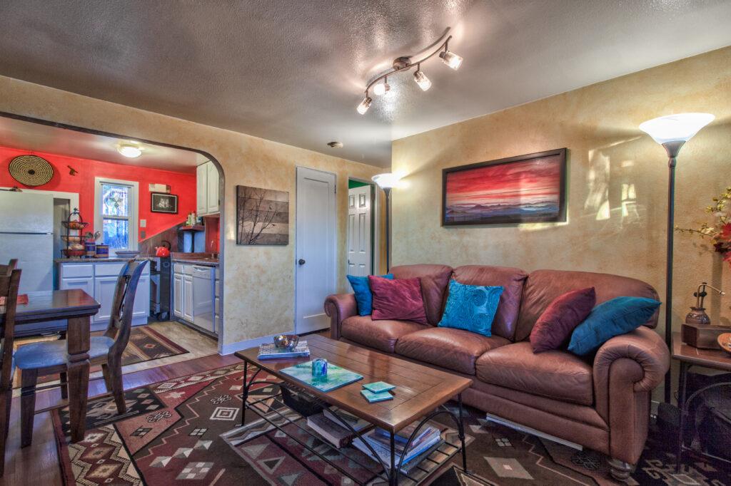 After-Seward Alaska Living Room