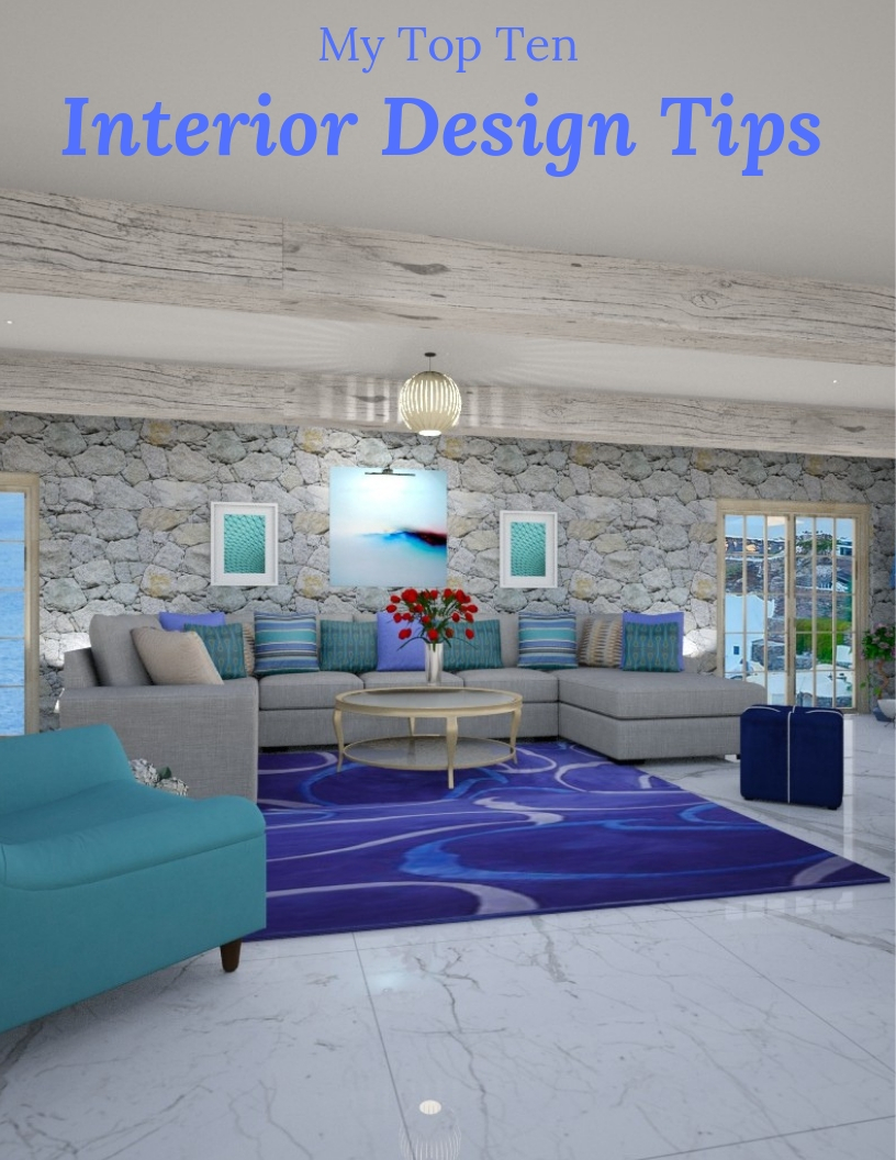 My Top Ten Interior Design Tips to Make Magic Happen- Northern Lights Home Staging and Design