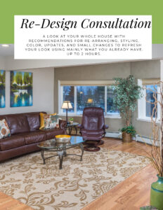 Interior Redesign Services by Northern Lights Home Staging and Design #interiordesign #redesign