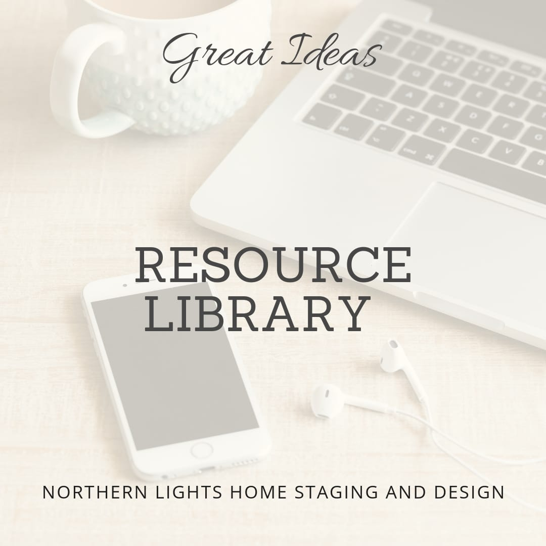 Northern Lights Home Staging and Design Resource Library for Interior Design, Edesign, Color and Home Staging Clients