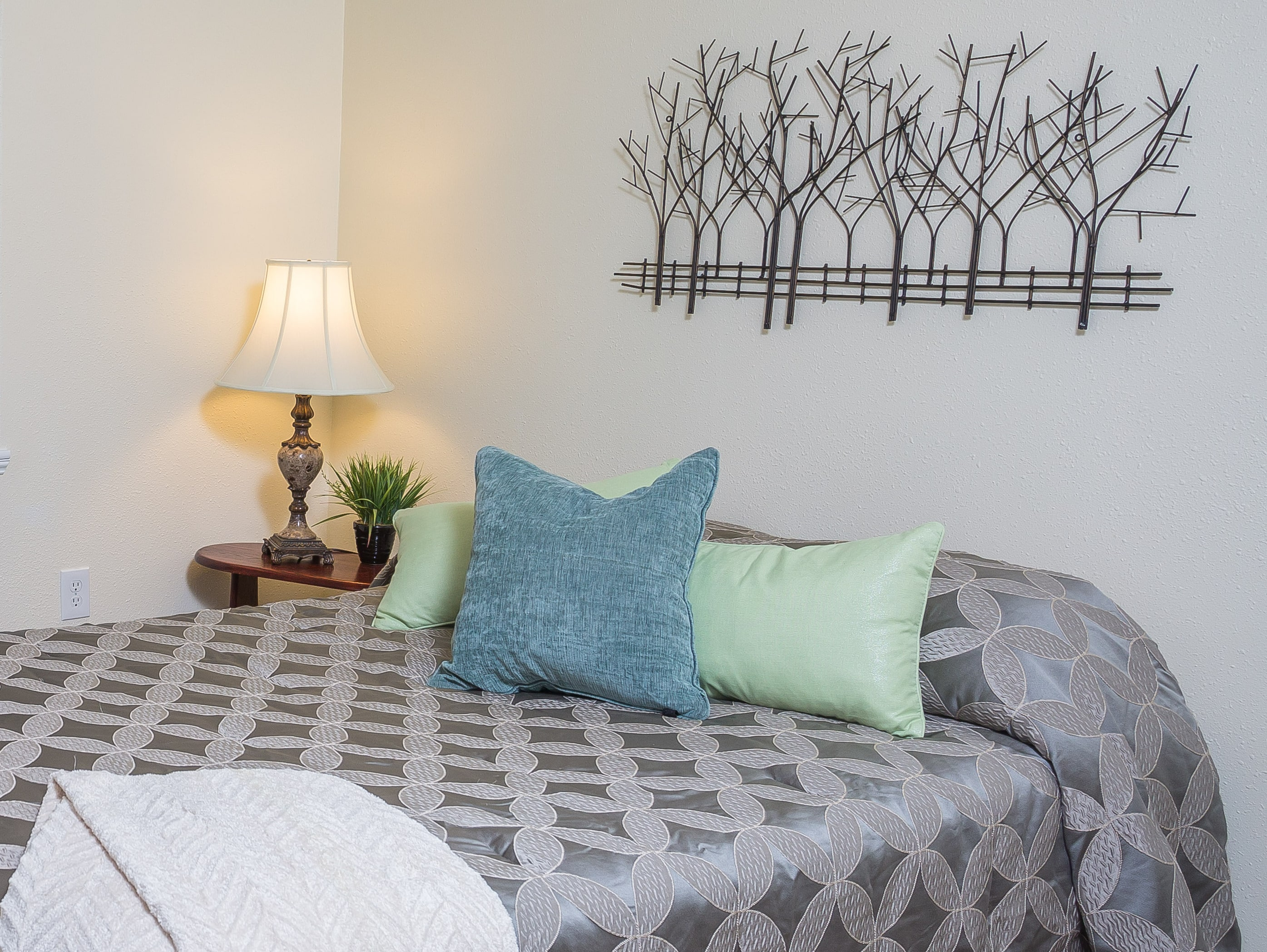 Dear Real Estate Agent- Don't be Scared of Home Staging by Northern Lights Home Staging and Design. Home Staging by Northern Lights Home Staging and Design. Photo is a crop of a photo by DMD Photography.