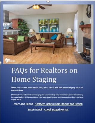 Faqs for Realtors on Home Staging by Northern Lights Home Staging and Design