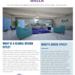 Greek Style Living Room- Edesign by Northern Lights Home Staging and Design