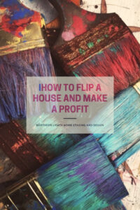 How to flip a house and make a profit by Northern Lights Home Staging and Design. #homestaging #remodeling #interiordesign #colorconsulting #countertops #paintcolors #houseflipping