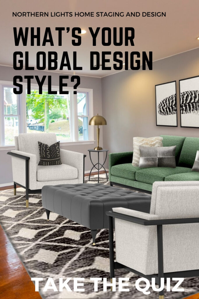 What's your Global Interior Design Style? Take the Quiz. My favorite global Interior Design styles explained. Bohemian, Moroccan, Turkish, Mexican, Greek and Indian styles. #globalstyle #Bohemian #boho #Moroccan #Turkish #Mexican #Greek #Indian #homedecor #ethnicdecor #moderndesign #sustainabledesign #greendesign #ecofriendly #designstyles #designquiz #interiordesign #interiordecorating #homestyle #uniquedesign #colorfulhome