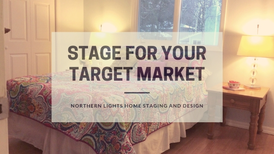 How to flip a house and make a profit by Northern Lights Home Staging and Design. Tip, Stage for your target market. #homestaging #remodeling #interiordesign #colorconsulting #countertops #paintcolors #houseflipping