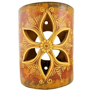 Clay Wall Sconce- Photo from La Fuente #affiliate