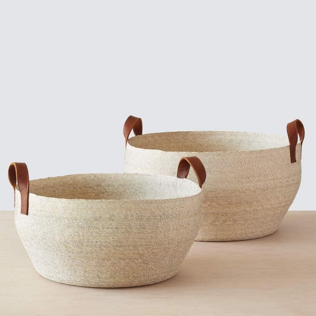 Mercado Floor Baskets. Photo from the Citizenry #affiliate
