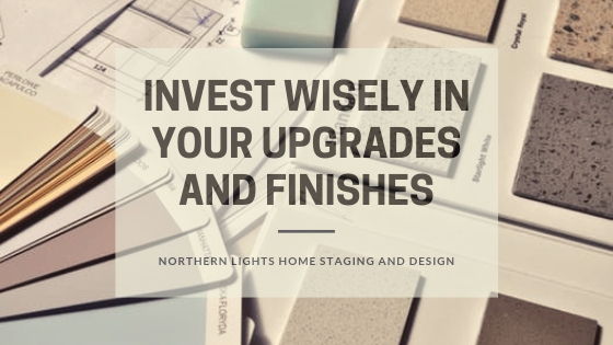 How to flip a house and make a profit by Northern Lights Home Staging and Design. One tip is to invest wisely in your upgrades and finishes.#homestaging #remodeling #interiordesign #colorconsulting #countertops #paintcolors #houseflipping