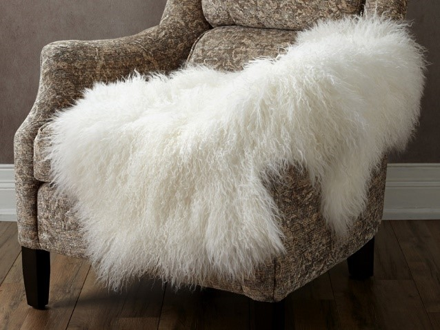 Ivory Tibetan Wool Throw. Photo from Arhaus #affiliate