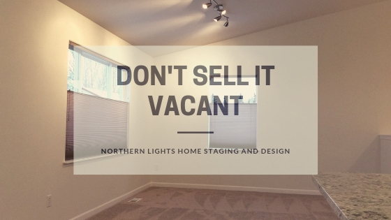 How to flip a house and make a profit by Northern Lights Home Staging and Design. Tip- Don't sell it vacant .#homestaging #remodeling #interiordesign #colorconsulting #countertops #paintcolors #houseflipping
