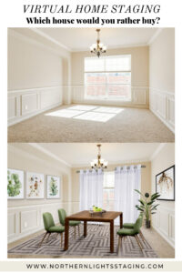Virtual Home Staging by Northern Lights Home Staging and Design #virtualstaging #virtualhomestaging #homestaging #realestatemarketing