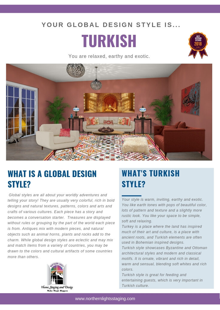 What is your Global Design Style?- Turkish