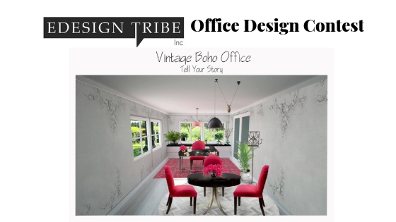 Vintage Boho Office- How a Designer Thinks. Northern Lights Home Staging and Design #Bohemian #Boho #globalstyle #designstyle #interiordesign #onlinedesign #globaldecor #vintage #officedesign #interiordesignstyle #modern #decor #eclectic #rustic #colorfuldecor #ethicdecor