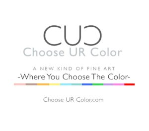 A new kind of fine art by Andrea Tarman where you choose your colors. Get 5% off with code NLS at checkout.