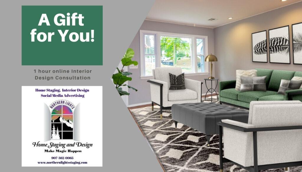 Black Friday Special- Online Interior Design Consultation- 1 Hour