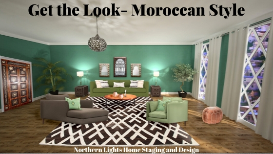 Get the Look- Moroccan Style Interior Design