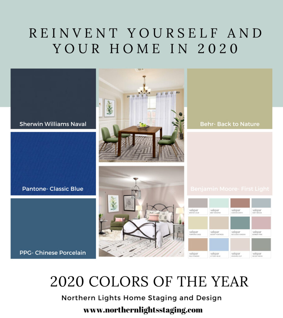 How to re-invent your life and home to be the ideal expression of yourself with the 2020 colors of the year and by connecting with nature.#edesign #onlinedesign #interiordesign #homedecor #coloroftheyear #backtonature #homedesign #homestyle #interiordecorating #interiorinspiration #interiorstyle #interiordesigner #moderndesign #globaldesign #global #bohemian #globalstyle #contemporary #boho #firstlight #paintcolors #reinventyourself #transformyourhome