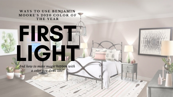 Ways to Use Benjamin Moore's 2020 Color of the Year- First Light
