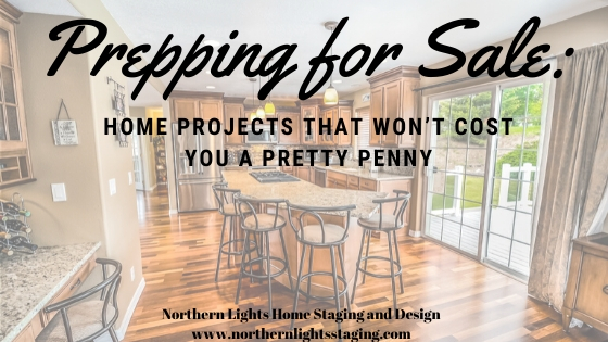 Prepping for Sale: Home Projects That Won't Cost You a Pretty Penny. Northern Lights Home Staging and Design. Writeen by Suzie Wilson. Photo by Pixaby.