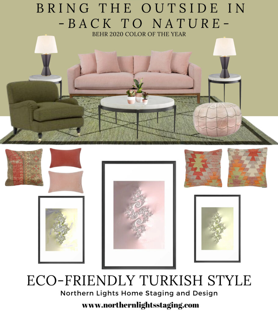 How to re-invent your life and home to be the ideal expression of yourself with the 2020 colors of the year and by connecting with nature.#edesign #onlinedesign #interiordesign #homedecor #coloroftheyear #backtonature #homedesign #homestyle #interiordecorating #interiorinspiration #interiorstyle #interiordesigner #interiorforinspo #interiorandhome #homestyling #homeinspo #decorating #interiorstyling #interiordesigners #moderndesign #modern #globaldesign #global #bohemian #globalstyle #contemporary #boho #firstlight #paintcolors #reinventyourself #transformyourhome