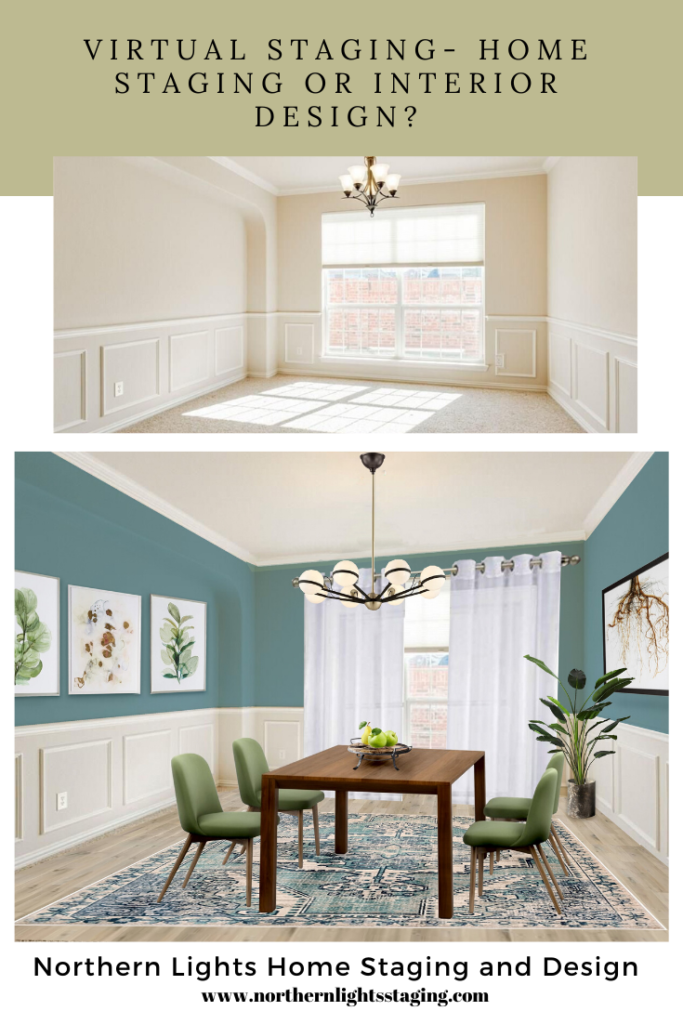 Virtual Staging- Is it Home Staging or Interior Design?