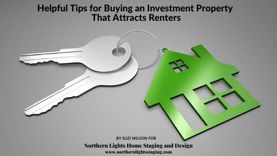 Helpful Tips for Buying an Investment Property That Attracts Renters. Invest in location, staging, green initiatives, security and smart home technology.