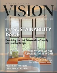 Vision Magazine featured and Edesign by Northern Lights Home Staging and Design in an article on page 50, 5 Things YOu Need to Know About Edesign by Joanne, Leary-Wenart. #edesign #visionmagazine