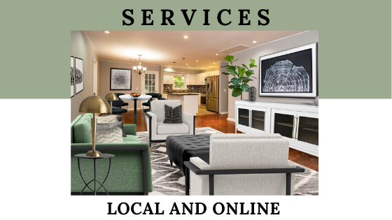 Local and online services of Northern Lights Home Staging and Design for home staging, Interior Design, Color Consulting, Vacation Rental Staging, Edesign, Virtual staging and more.