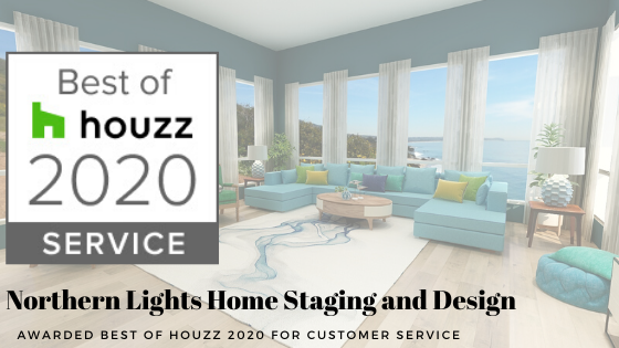 Northern Lights Home Staging and Design awarded Best of Houzz 2020 for Customer Service