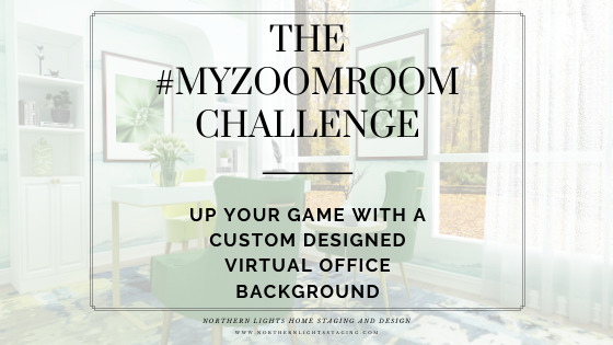 The #MYZOOMROOM  Challenge