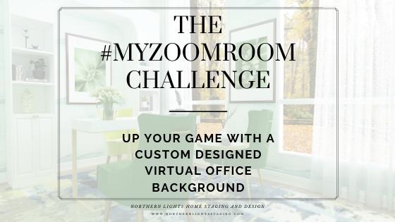 The #MYZOOMROOM  Challenge
